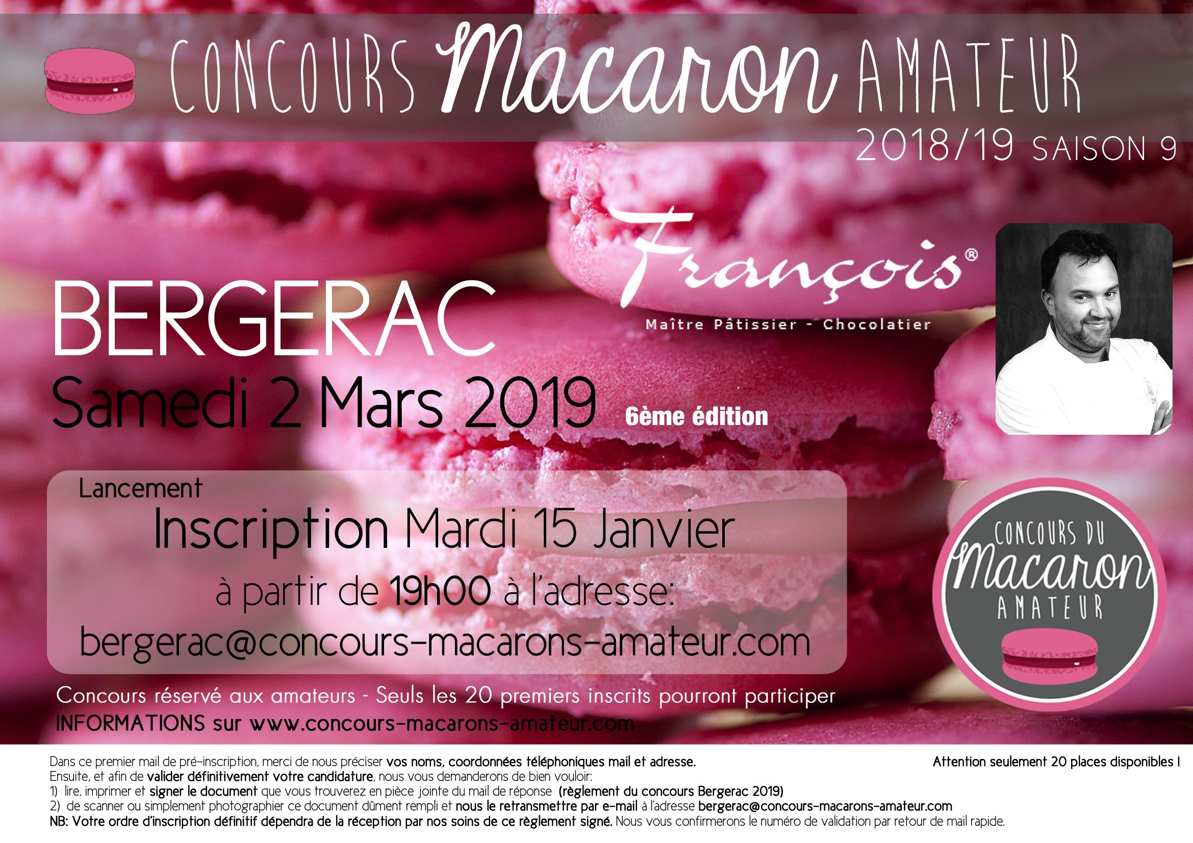 Affiche A4 Bergerac